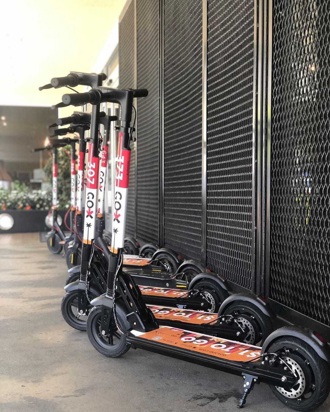 Discover @fishermanswharf on a scooter. We have them waiting for all our guests by the hotel entrance. #visitsf #hotelzephyrsf #fishermanswharf #sanfranciscogram