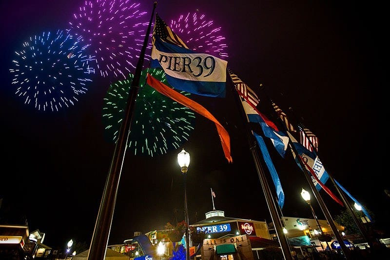 Happy 4th of July! At approximately 9:30pm tonight, behold all the colorful lights at the Bay Area's best spots to watch fireworks, including @ghirardellisquare, and @pier39, located steps away from the hotel. #visitsf #fishermanswharf #sftravel #sanfranciscogram #hotelzephyrsf