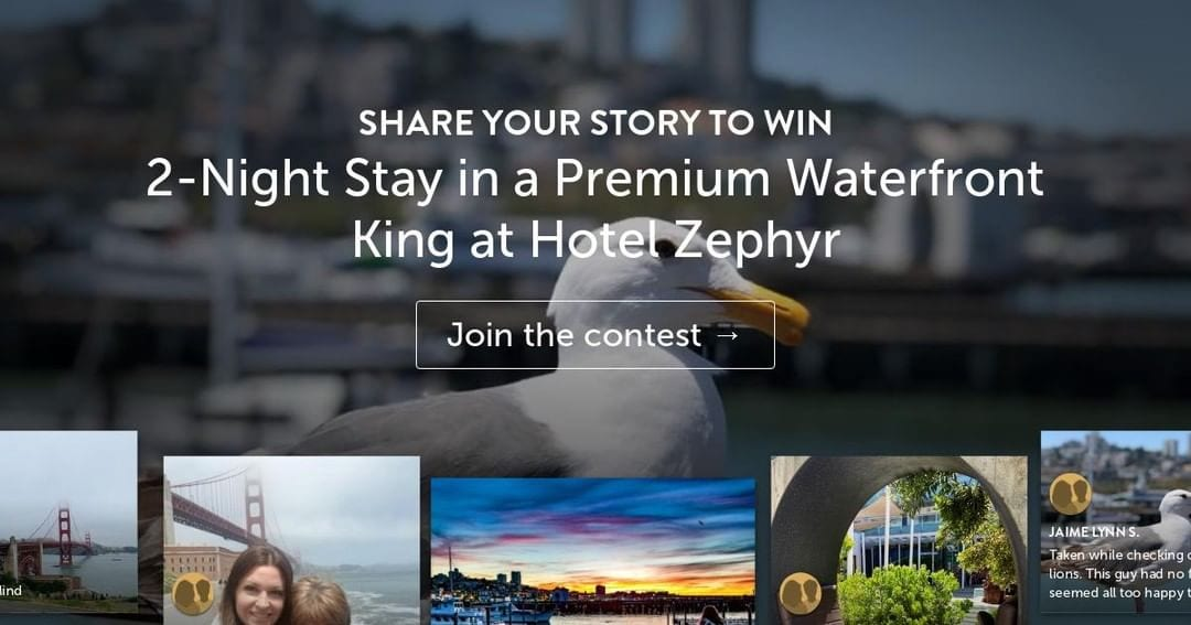 Last chance to WIN a 2-NIGHT STAY at Hotel Zephyr San Francisco! Contest ends this Friday, August 30, 2019. To enter, click https://bit.ly/2KZxrSg #visitsf #hotelzephyrsf #sanfrancisco #fishermanswharf https://flip.to/r/aty3