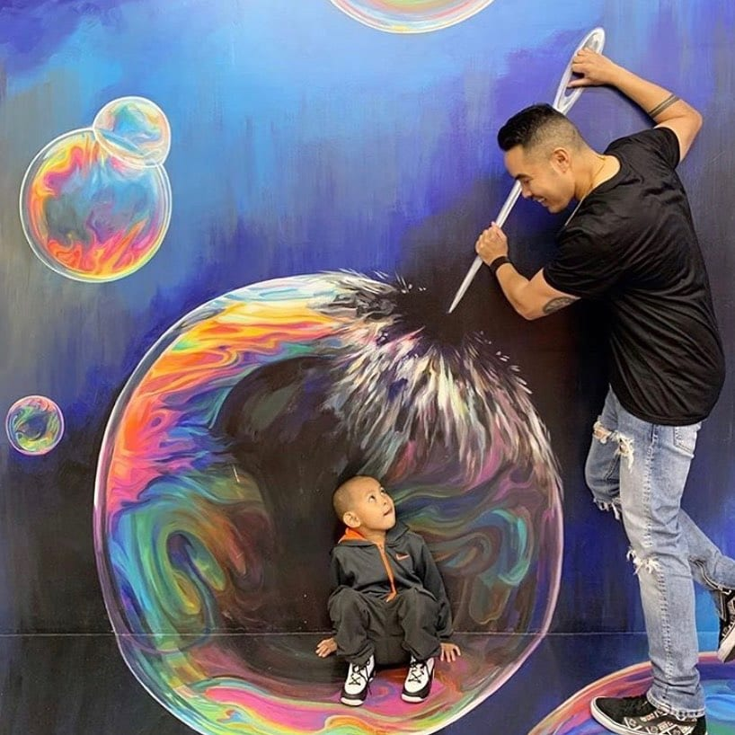 Discover breathtaking 3D illusions with the family at @museumofillusions.sf located on Zephyr Walk. #sfweekend #hotelzephyrsf #visitfishermanswharf #zephyrwalk