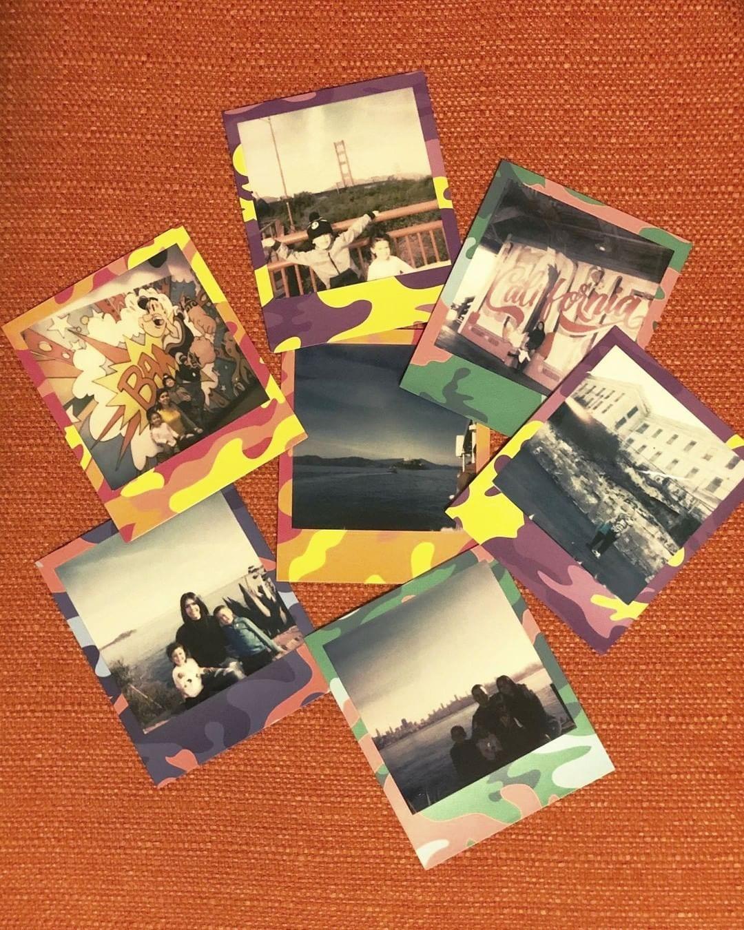 Creating memories one Polaroid at a time 📷 by @xo_lelyy #sanfrancisco #zephyrhotel #wharfdistrict #pier39 #alcatraz #roadtrip #polaroid #trishsdonuts