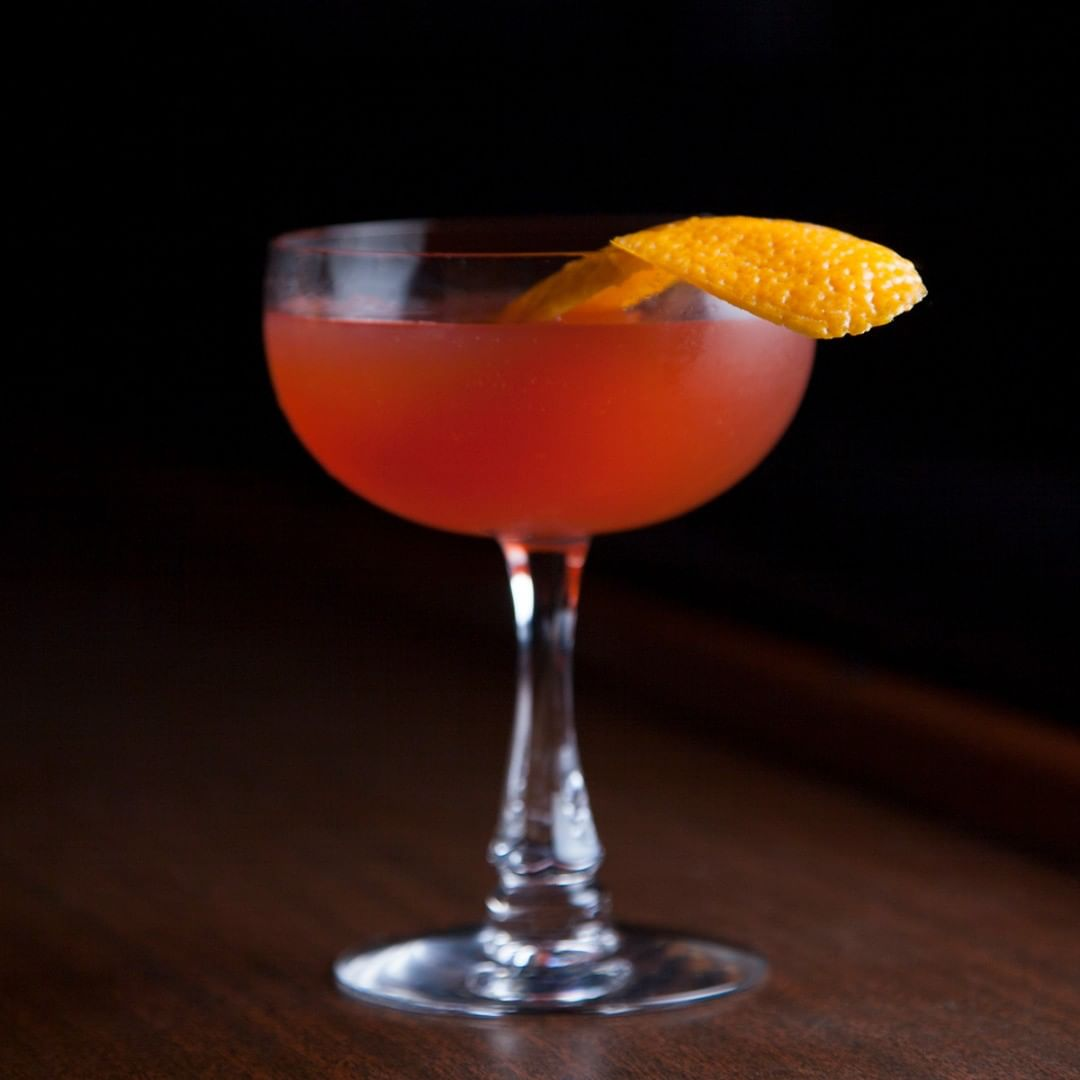 Enjoy a night cap in the comfort of your living room tonight. We present to you Cooky's Fortune:⠀⠀⠀⠀⠀⠀⠀⠀⠀ ⠀⠀⠀⠀⠀⠀⠀⠀⠀ 1 1/2 oz. tequila⠀⠀⠀⠀⠀⠀⠀⠀⠀ 3/4 oz. campari⠀⠀⠀⠀⠀⠀⠀⠀⠀ 1/2 oz. sweet vermouth⠀⠀⠀⠀⠀⠀⠀⠀⠀ 1/2 oz. orange juice⠀⠀⠀⠀⠀⠀⠀⠀⠀ ⠀⠀⠀⠀⠀⠀⠀⠀⠀ Shake all ingredients with ice. Double strain into a chilled coupe. Garnish with an expressed orange peel and enjoy!
